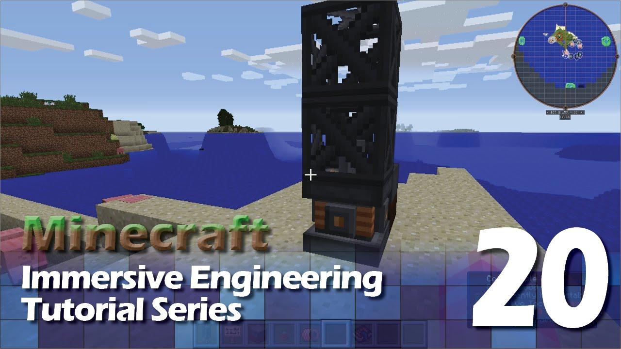 Immersive Engineering Tutorial #20 - Core Sample Drill - YouTube