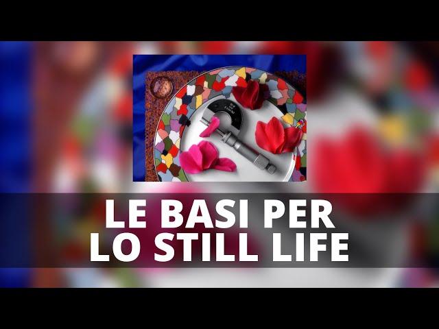LE BASI PER LO STILL LIFE : Introduzione alle Tonality Masks