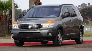 2002 BUICK RENDEZVOUS CX AWD 121K MILES LIKE NEW TIRES RUNS GREAT WALK AROUND