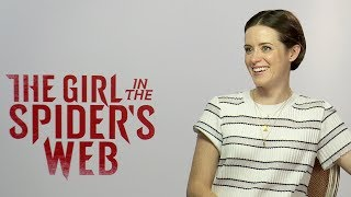 CLAIRE FOY Interview: The Girl in the Spider's Web