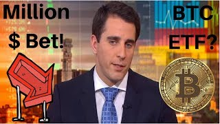 $1 Million Dollar Bet! Crypto Own Asset Class! Bitcoin ETF? RPD Giveaway! Crypto TA & News!