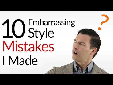 10 Style Mistakes I Made (Embarrassing)! | Slideshow Of WORST Looks | Fashion Faux Pas To AVOID!