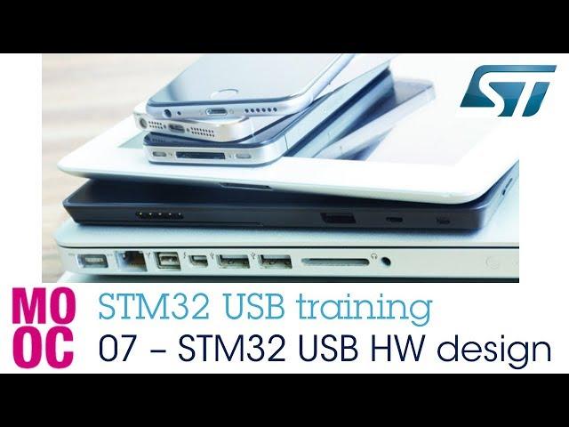 STM32 USB training - 07 STM32 USB hardware design