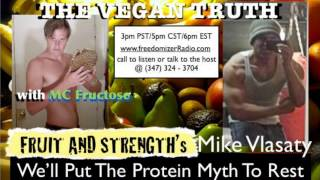 Vegan Truth Radio with MC Fructose feat Mike Vlasaty Show #1