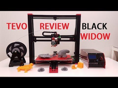 TEVO black widow 3D printer full review