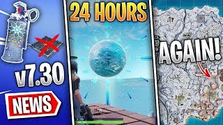 Fortnite News | Chiller Grenade, Ice Sphere Changed, v7.30, Snow Map Return, Secret Skirmish & More!