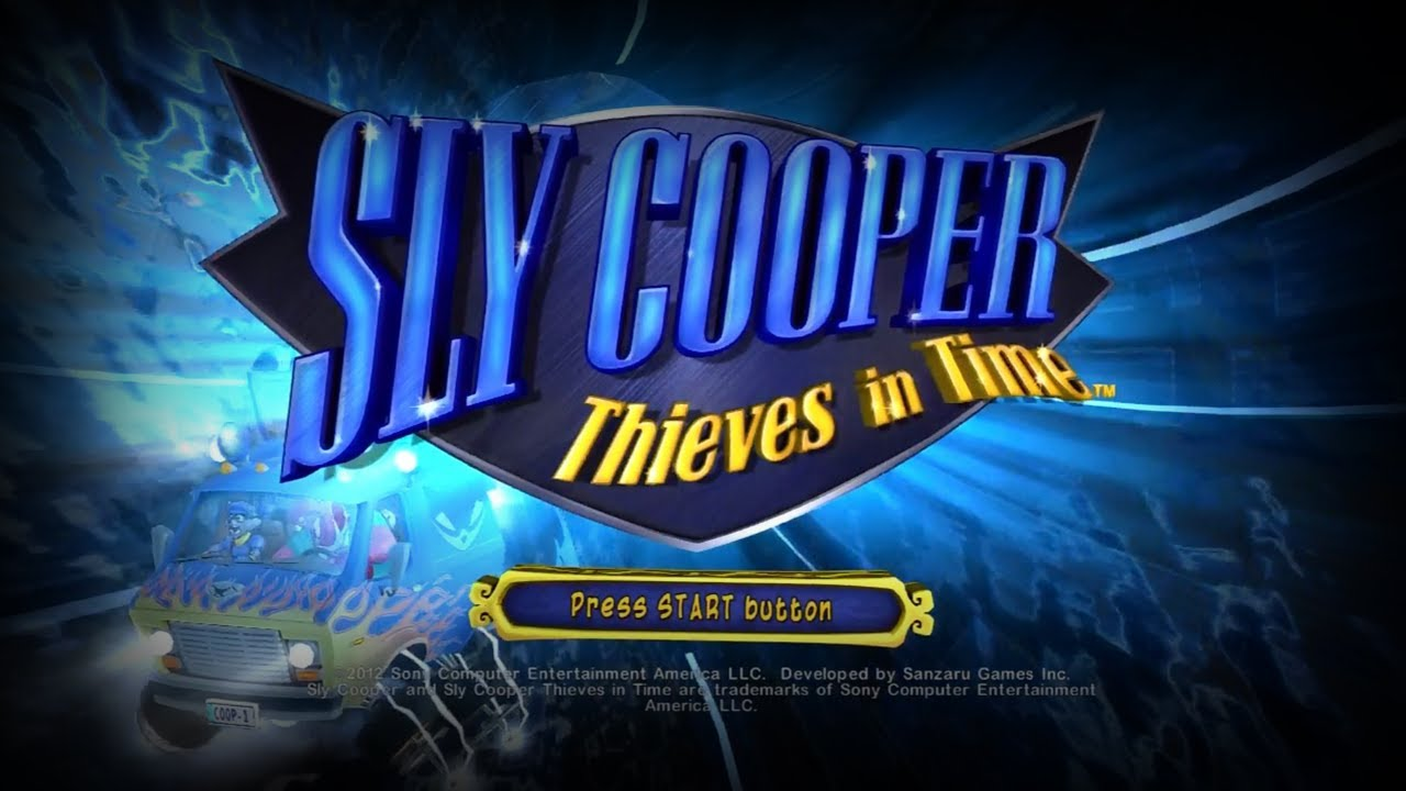 Sly Cooper Thieves In Time Theme Music Title Screen Hq