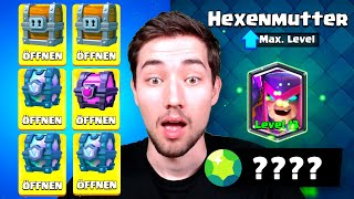 MUTTERHEXE LEVEL 13 mit XXL OPENING? 😍 Neue Clash Royale Saison!