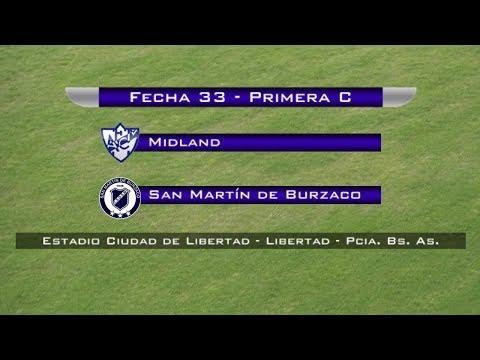 Fecha 33: Midland vs San Martín de Burzaco - EN VIVO