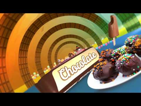 Chocolate Factory Title ||  3D motion graphics ||  After Effects Title Design || GS Motion Works