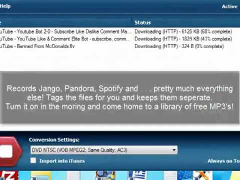 Convert YouTube into iTunes Easily! (and for free)