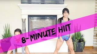 8-Minute Full Body Workout with Kelsey Lee XHIT and Amanda Russell