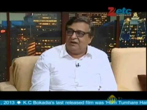 K.C. Bokadia With Komal Nahta