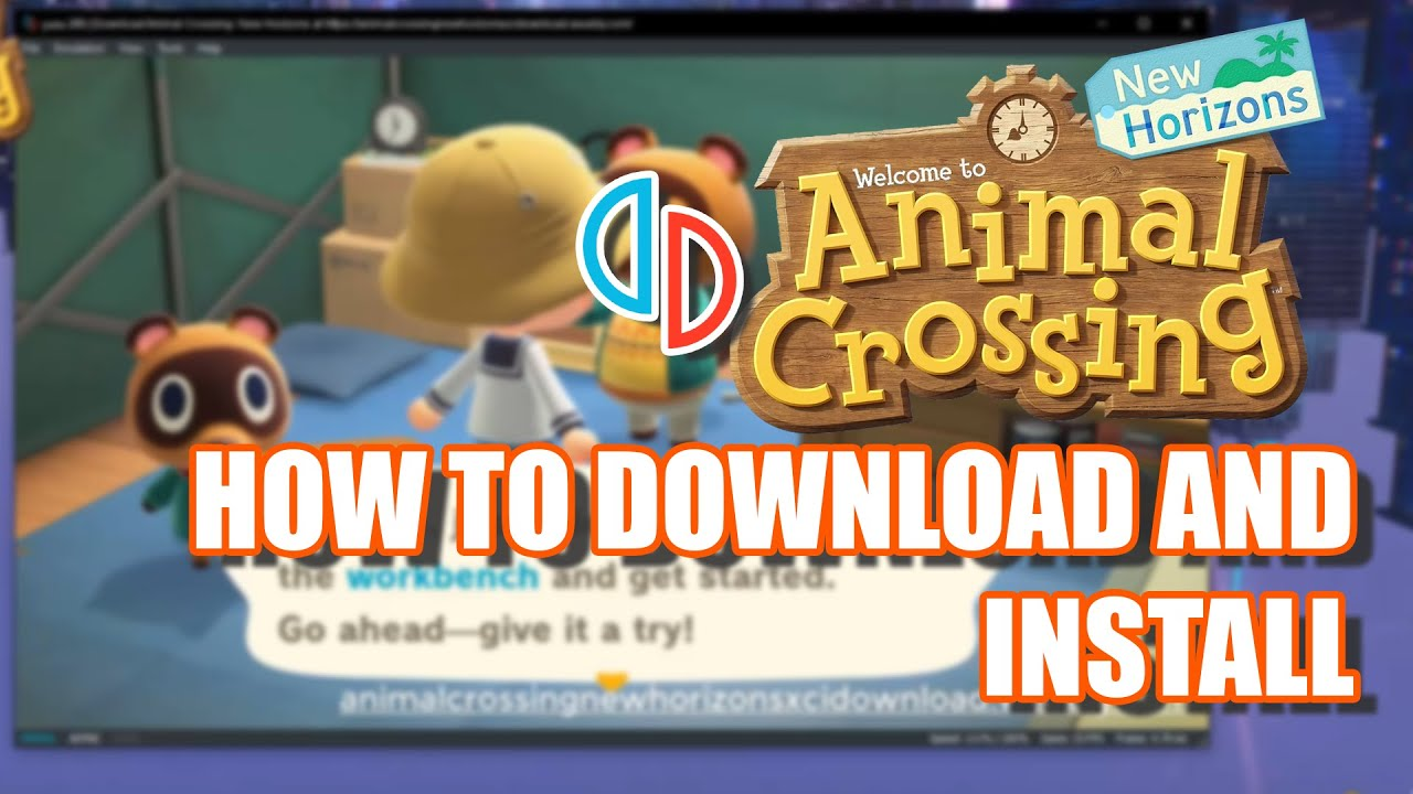 HOW TO DOWNLOAD AND INSTALL ANIMAL CROSSING NEW HORIZONS ...