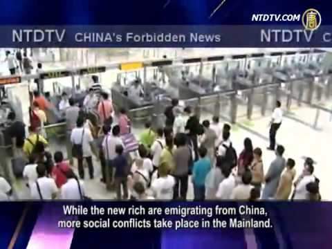 Emigration Wave Hits China