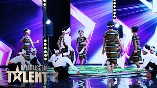 Baby Star: Auditions | Myanmar's Got Talent 2019