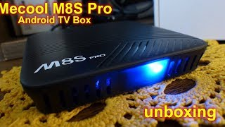 Mecool M8S Pro (Android TV Box) - unboxing