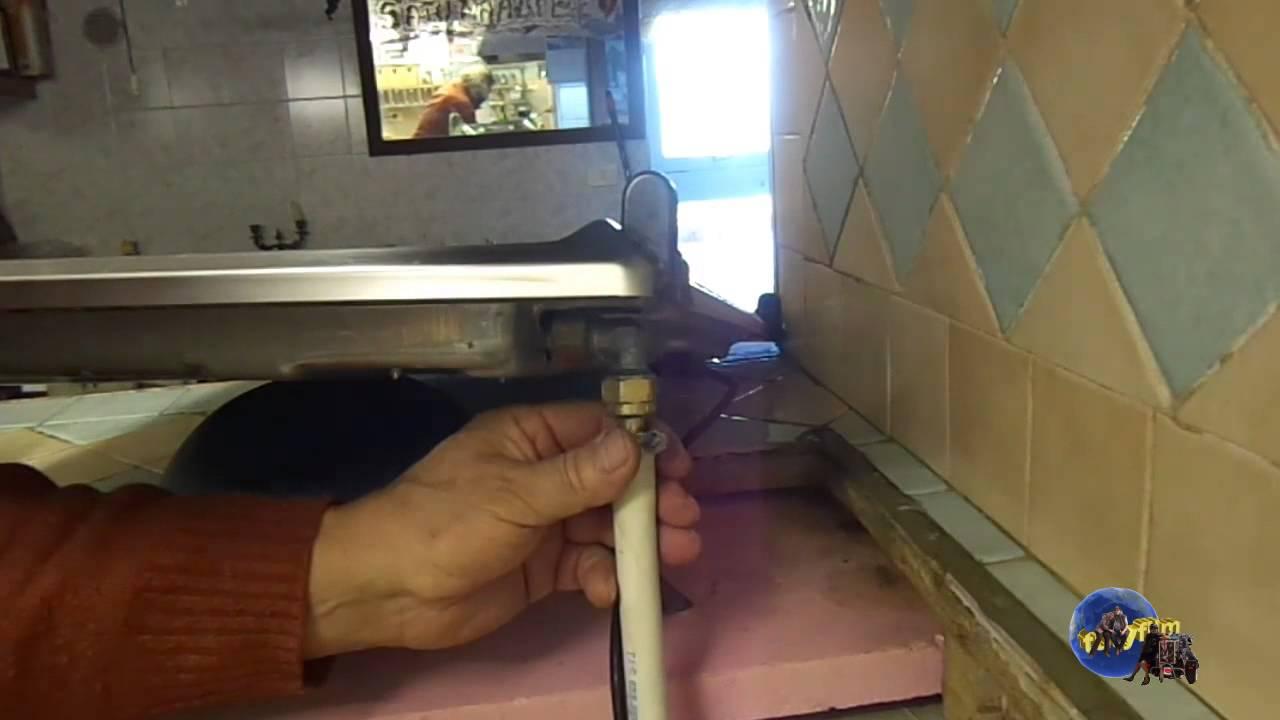 tutorial sostituzione tubo del gas youtube On come sostituire il tubo di rame con pex