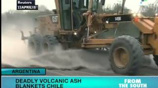 Deadly Volcanic Ash Blankets Chile