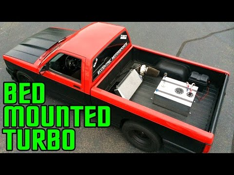 BED-MOUNTED Turbo Truck @ SCT Indy!