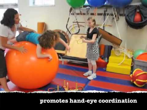 The Giant Therapy Ball at Cotting School