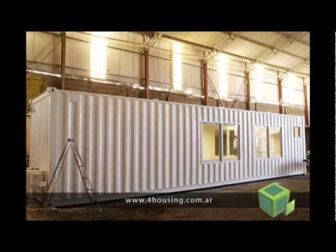 Oficinas hechas con contenedores mar timos 4housing for Diseno de oficinas con contenedores