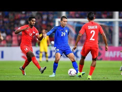 Thailand 3-0 Singapore (AFF Suzuki Cup 2018 : Group Stage)