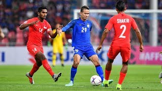 Thailand 3-0 Singapore  Aff Suzuki Cup 2018 : Group Stage