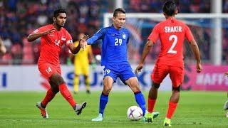 Thailand 3 0 Singapore (aff Suzuki Cup 2018 : Group Stage)