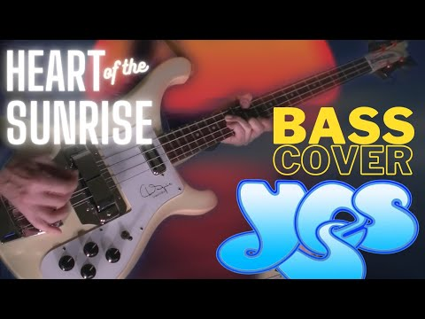YES - Heart Of The Sunrise [bassline/bass cover]