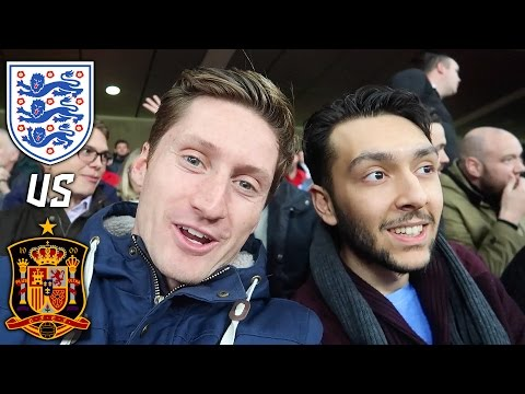 HASHTAG LADS WATCH ENGLAND VS SPAIN AT WEMBLEY!