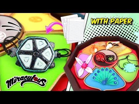 DIY The new Miraculous Ladybug | How to make charged bracelet Turtle Miraculous Ladybug of CARAPACE