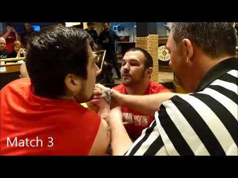 Arm Fight Club - Event 3 - Brenden Lemmon Vs Bill Cameron (right Arm)