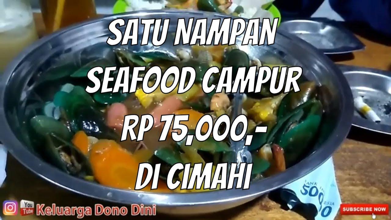 """WARUNG SEAFOOD Di Cimahi """"Marina Seafood"""" Murah meriah enak"""