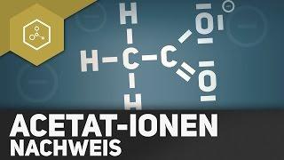 Nachweis von Acetat-Ionen