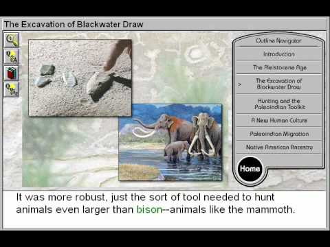 The Excavation of Blackwater Draw (First Americans: The PaleoIndians Part 3)
