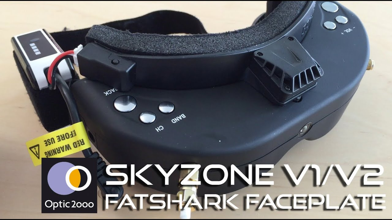 Skyzone FPV V1/V2 - Goggles faceplate Fatshark