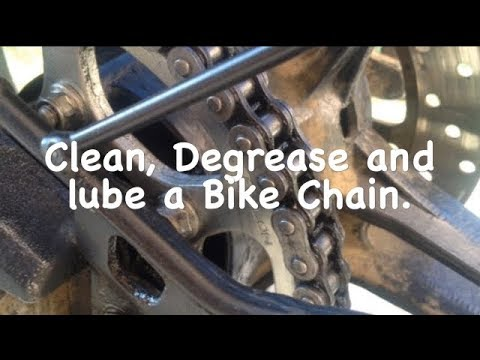 Yamaha r15 v2 | How To Clean, Degrease and Lube a Bike Chain
