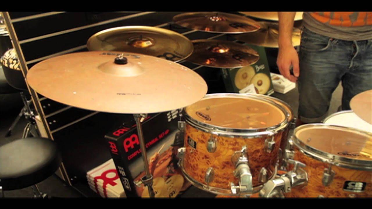 second hand cb drum kit bargain youtube. Black Bedroom Furniture Sets. Home Design Ideas