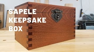 Keepsake Box Using Box Joints