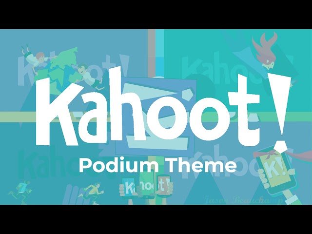 Kahoot live | join a game of kahoot here. Kahoot Podium Theme Music Youtube