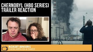 Chernobyl (HBO Series) TRAILER - Nadia Sawalha & The Boxset Bingers Reaction