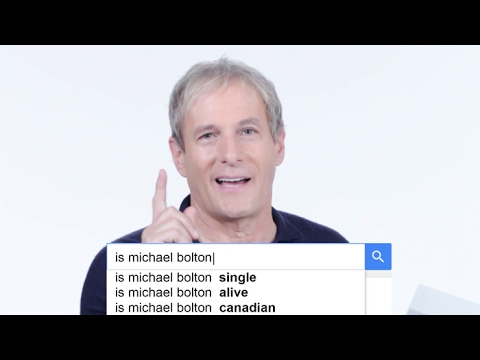 Michael Bolton Answers the Web's Most Searched Questions | WIRED
