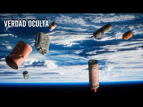 NASA ACABA DE TIRAR 2,9 TONELADAS DE BASURA AL ESPACIO