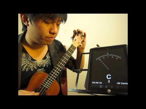 วิธีการตั้งสาย ukulele อย่างง่าย