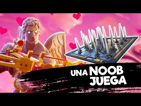 Fortnite | Una Noob Intenta Usar la Trampa
