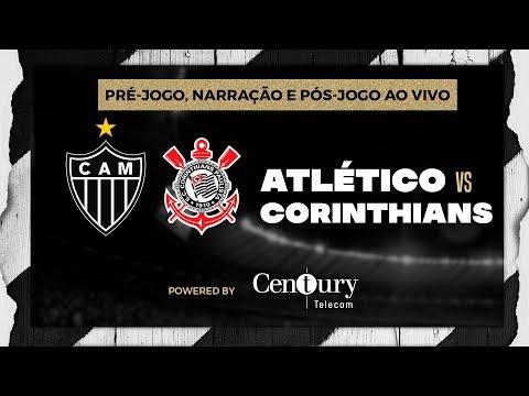 Atlético x Corinthians: pré-jogo, narração e pós-jogo.