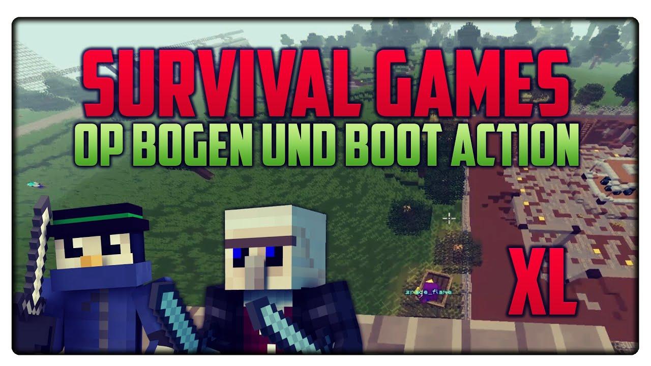 Minecraft Survival Games Mit TheFabo OP Bogen Boot Action - Minecraft bogen spiele