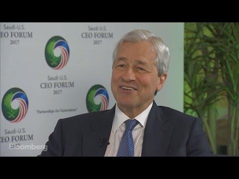 JPM's Dimon 'Optimistic' on Bank Regulation Under Trump