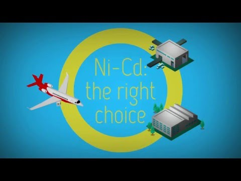 Aviation Ni-Cd batteries by Saft